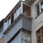 Распашной балкон